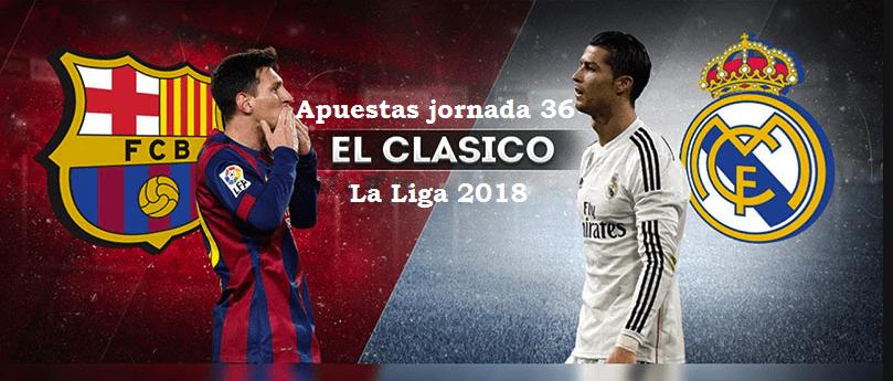 5 pronósticos jornada 36 de La Liga 2017/18