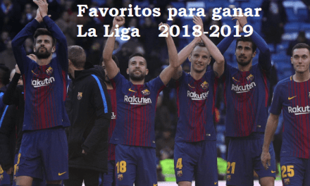 Favoritos para ganar la Liga 2018-2019