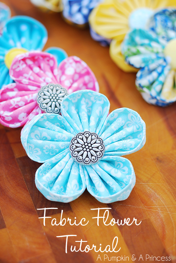 How To Make Flowers Out Of Fabric : flowers, fabric, Kanzashi, Flowers, Fabric, Flower, Maker