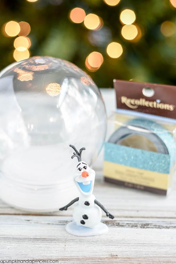 DIY Frozen Olaf Snow Globe A Pumpkin And A Princess
