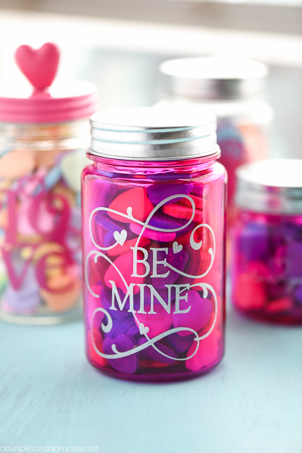 Valentines Day Mason Jar Gifts A Pumpkin And A Princess