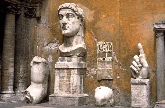 Retrato colosal de Constantino