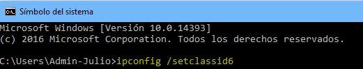 ipconfig_setclassid6
