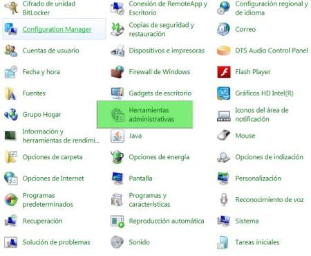 Actualizaciones de windows_Herramientas administrativas