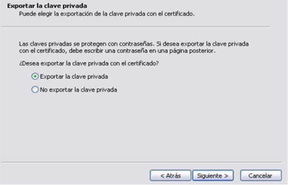 Firma digital exportar Importar_5