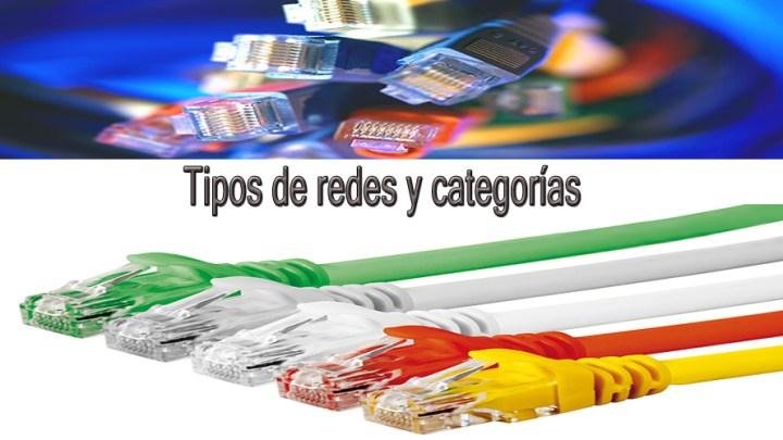Tipos y categorías de cable de red