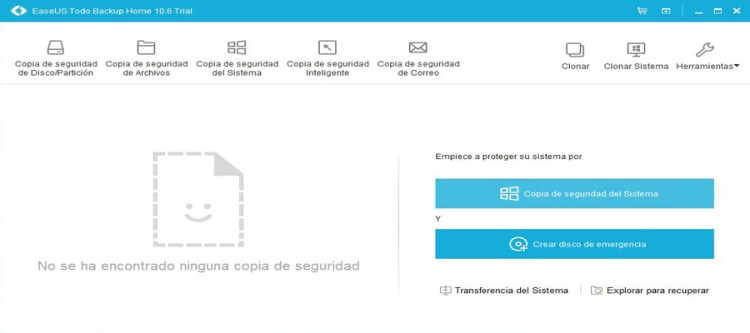 EaseUS Todo Backup Home 10.6 trial