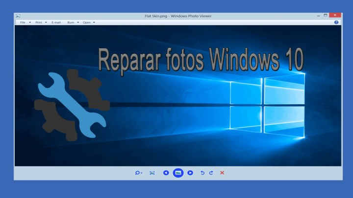 Reparar fotos Windows 10