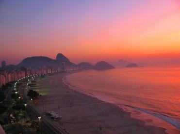 Amanecer en Río de Janeiro