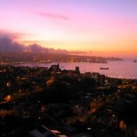 Mi llegada a Valparaíso