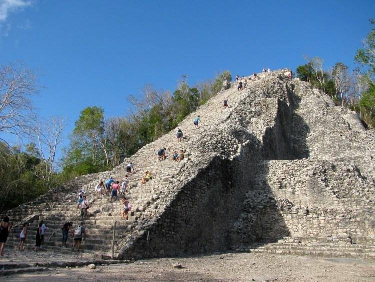 Pirámide de Cobá, México