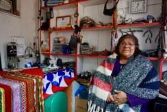 María Coñuecar, joyería. Comunidad We Folil Che.