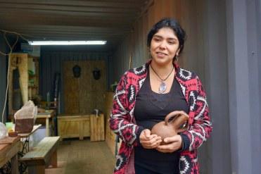 Daniela Vera, comunidad Quincha Quintil Diaguita.