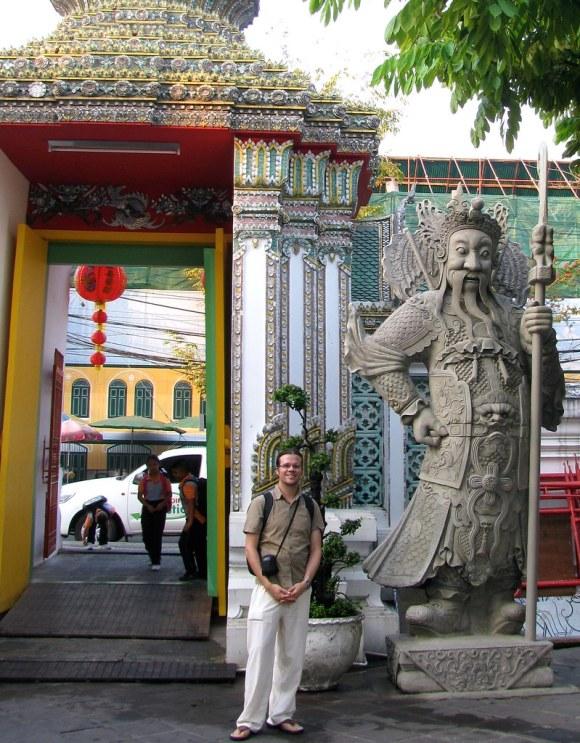 Acceso al Wat Pho