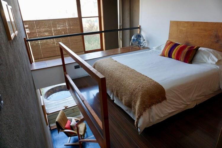 Habitación del Hotel Cirilo Armstrong
