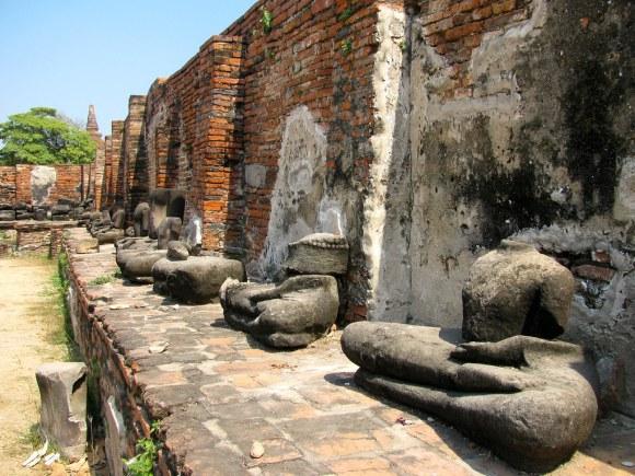 Ruinas de Wat Maha That