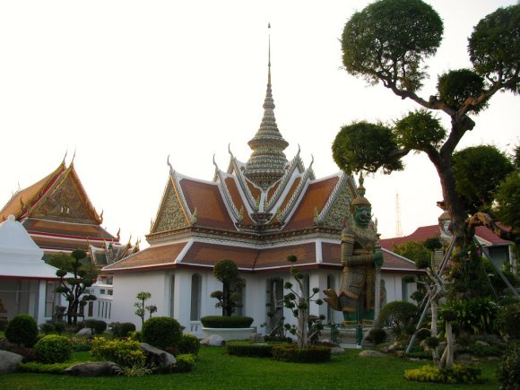 Templos y jardines del Wat Arun