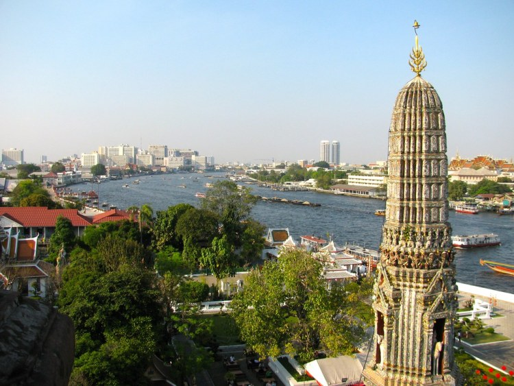 Wat Arun y río Chao Phraya