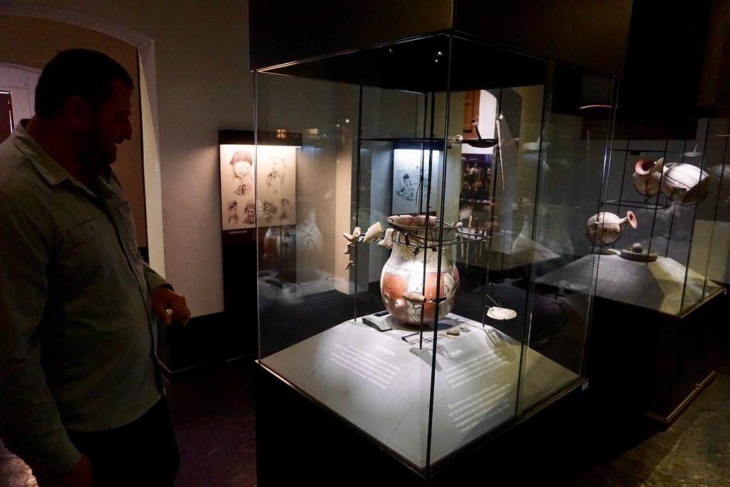 Vestigios de la cultura Diaguita en Museo del Limarí