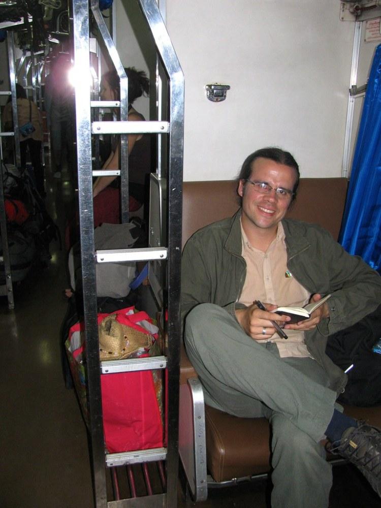 A bordo del tren a Chiang Mai