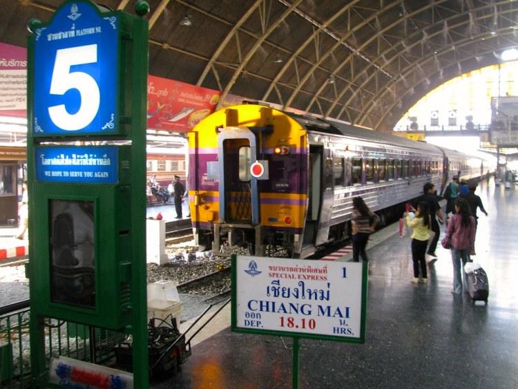 Estación de trenes de Bangkok