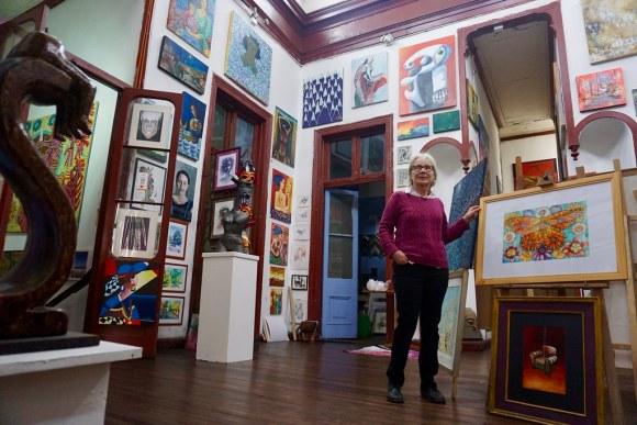 Beatriz Dávila en Galería La Escala