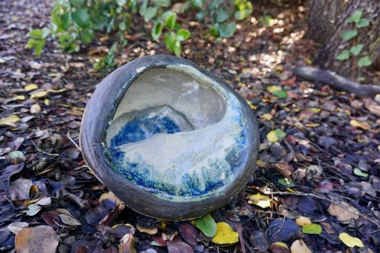 Caracol de cerámica
