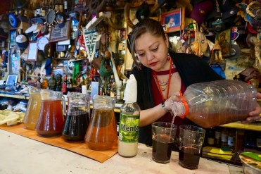 Chichón en Bar Liberty