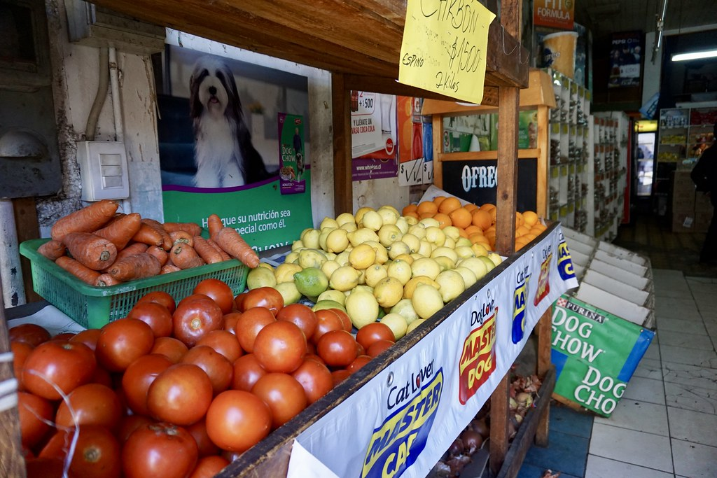 Frutas y Verduras en Papajo