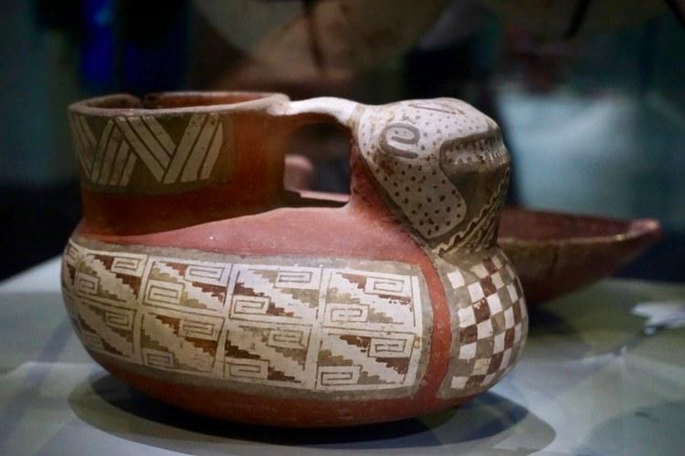 Jarro Diaguita en el Museo del Limarí