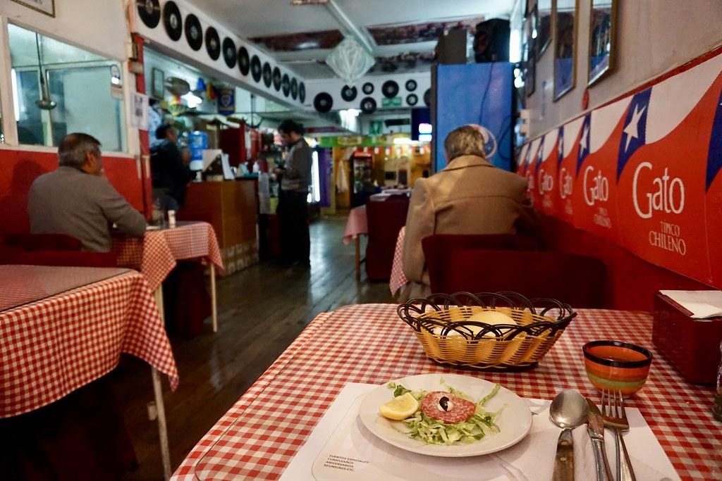 Menú en Restaurante Doris