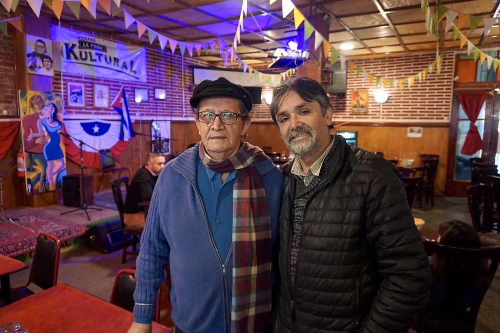 Omar Reyes y Manuel Reyes, La Para Kultural
