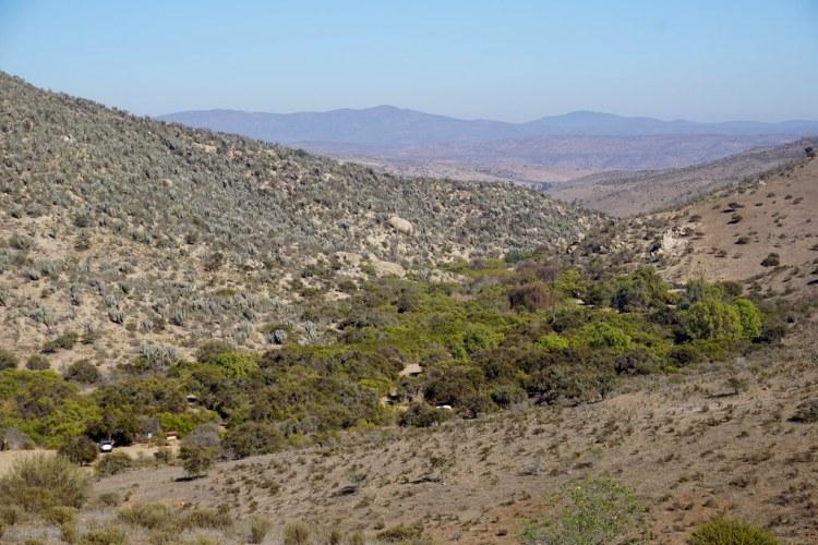 Vista general al Valle del Encanto
