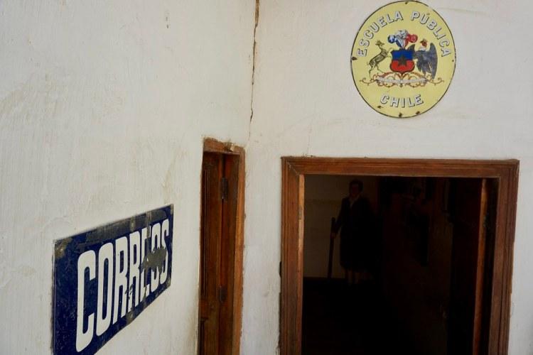 Escuela de Gabriela Mistral