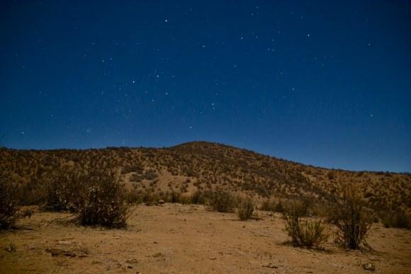 Cielo estrellado en Valle de Elqui