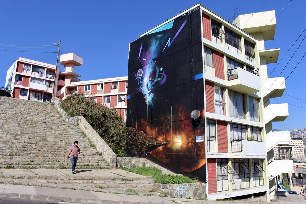 La energía emanada de Valparaíso, Claudio Dre. Cerro Lecheros, Valparaíso.