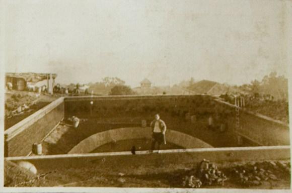 Construcción de piscina en el DPA