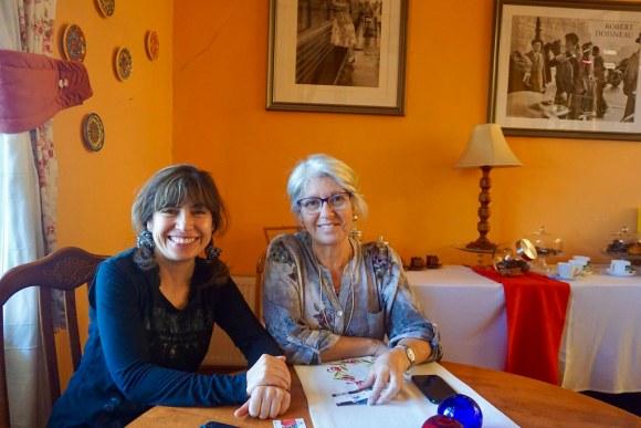 Claudia Ahonzo y Verónica Castillo, tesorera y presidenta de Hoteles de Valparaíso Asociación Gremial