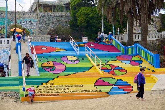 Pintando Las Escaleras, Salvemos Las Torpederas