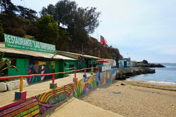 Restaurante Las Torpederas, Playa Ancha