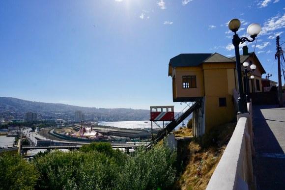 Valparaíso y el ascensor Barón