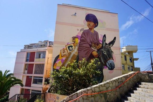 A la Pinta, Valparaíso en Colores. Cerro Lecheros, Valparaíso.
