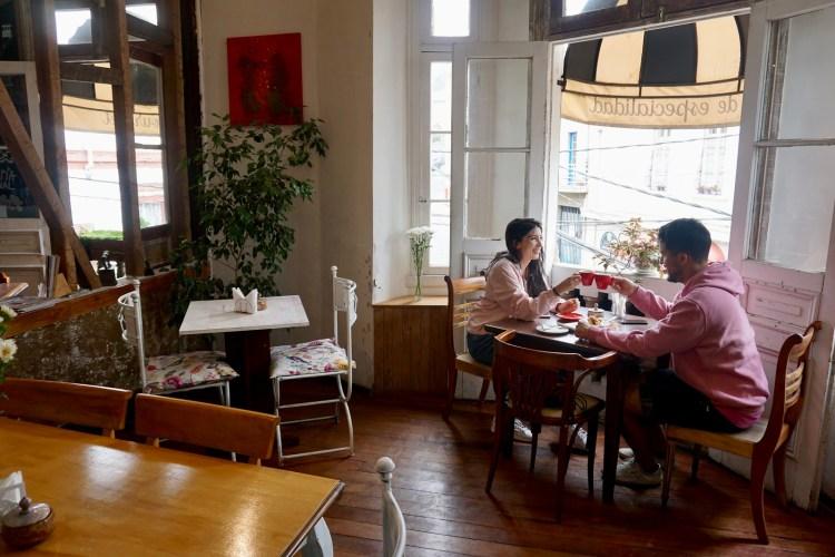 Café Entre Cerros, Valparaíso