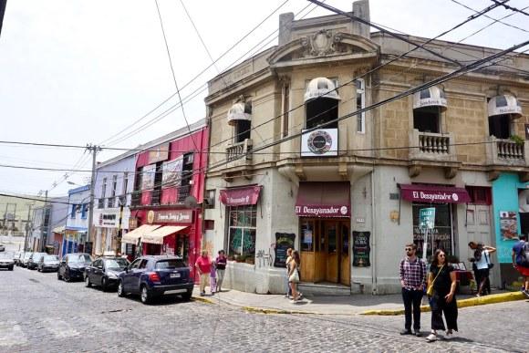 En la intersección de calle Almirante Montt y Paseo Dimalow se ubica Café Entre Cerros actualmente