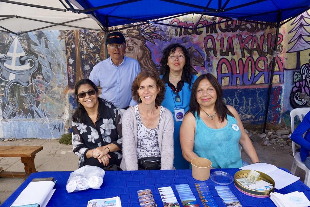 Representantes de organizaciones de Playa Ancha
