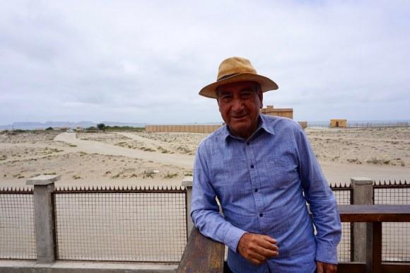 Óscar Avilez, presidente de la Asociación Gremial Punta de Choros