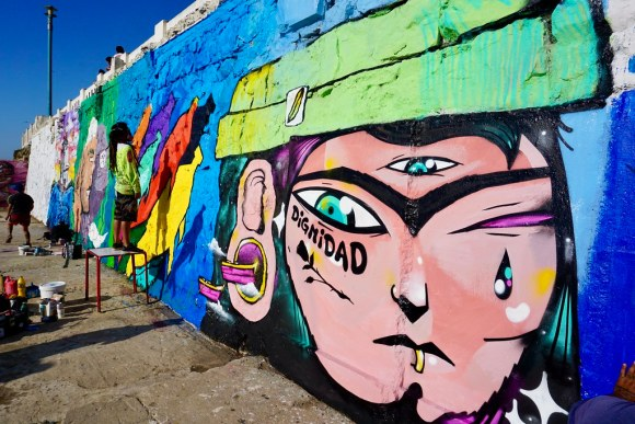 Primer Encuentro de Muralismo Torpederas de mi Ensueño