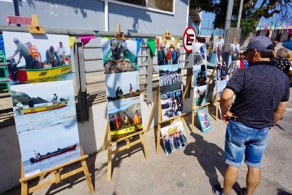Muestra de fotografías históricas de la Caleta de San Pedro