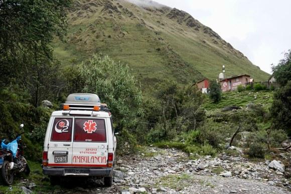 Servicio de emergencia en terreno