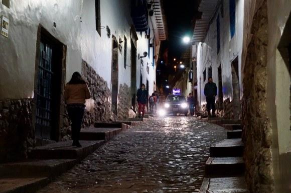 Subiendo por el barrio de San Blas